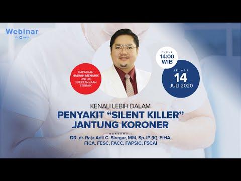Kenali lebih dalam Penyakit Silent Killer Jantung Koroner (Webinar)