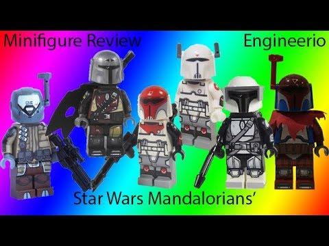 Lego Star Wars Jango Fett Mandolorian Mercenary Custom Minifigure