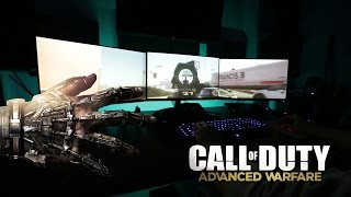Gameplay Call of Duty Advanced Warfare (PC) on NVIDIA Surround Multi-Display