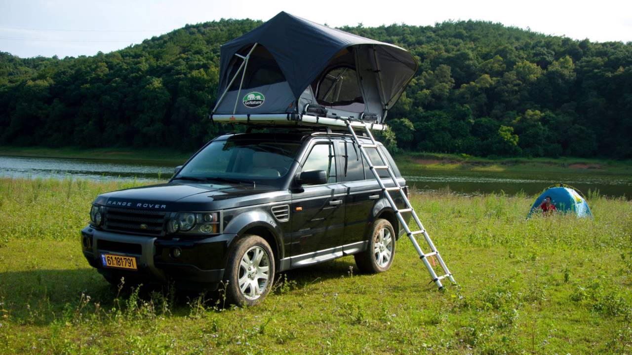 gonature pathfinder roof tent & gonature pathfinder roof tent - YouTube