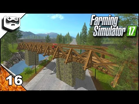 Farming Simulator 2017 in romana Pine Cove Farm episodul 16