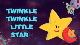 Twinkle Twinkle Little Star - Nursery Rhymes Songs for Children | Star Rhymes | Rajshri Kids