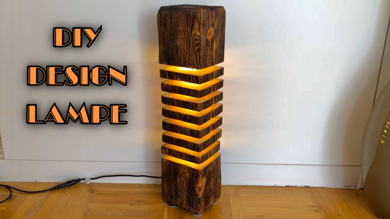 Lampen Aus Holz Altholz Designer Led Lampe Bauen / Diy - Youtube