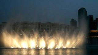 Dubai Mall Fountain -