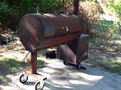 building a bbq smoker 15 youtube