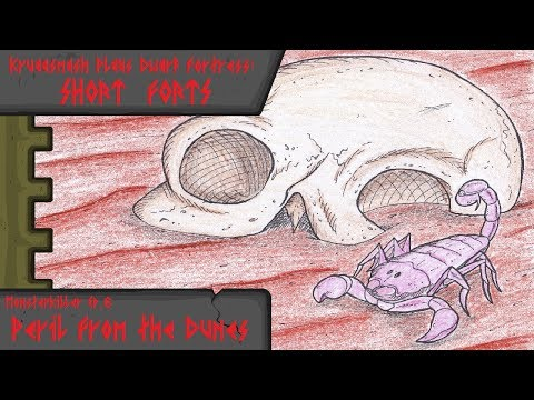 Kruggsmash Plays Dwarf Fortress: Monsterkiller Ep.6 - Peril From the Dunes