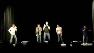 The House Jacks improv A cappella covering Hit Me Baby One More Time