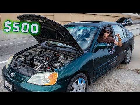 Buying The CHEAPEST Car Online \u0026 Driving It Home!