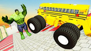 Insane Hill & Fooling Around - BeamNG Drive Fun Madness Satisfying Cars Crashes & Fails Compilation