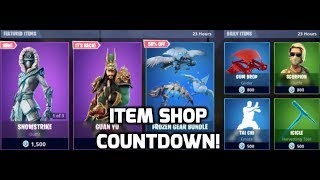 Fortnite Guan Yu Skin Returns! (Item Shop Countdown)