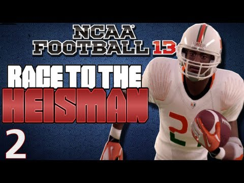 NCAA Football 13 - Heisman Challenge Ft. Desmond Howard Ep.2 Week 2-3