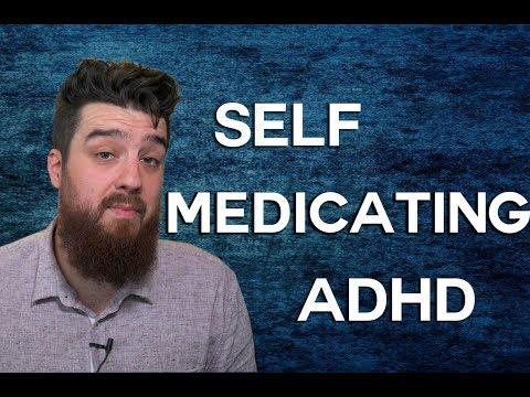 self-medicating