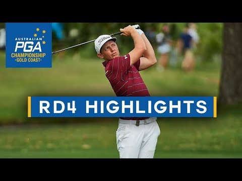 Round 4 Highlights - 2017 Australian PGA Championship