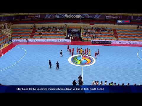 M13 - Indonesia vs Vietnam - AFC U-20 Futsal Championship - IR Iran 2019
