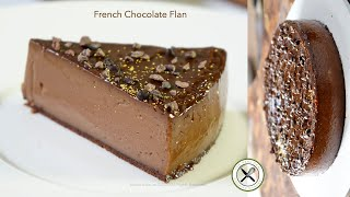 French Chocolate FlanBruno Albouze  THE REAL DEAL
