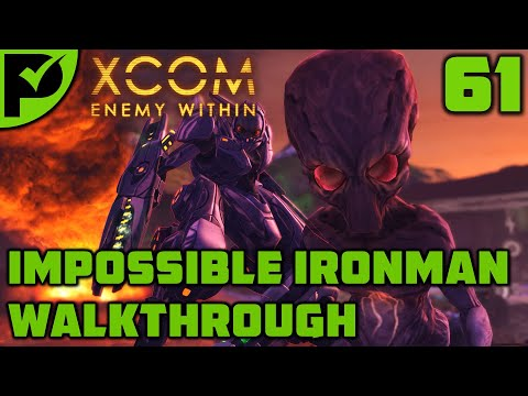 Mental Minefield - XCOM Enemy Within Walkthrough Ep. 61 [XCOM Enemy Within Impossible Ironman]