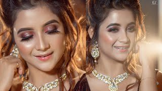 Tik Tok star Rimpa Roy | Party / Engagement Makeover | Artist Gargi Roy | LOukik Das Photography
