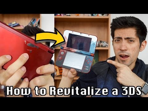 How to Skin your New Nintendo 3DS XL (DecalGirl, Journeying Inward Skin)