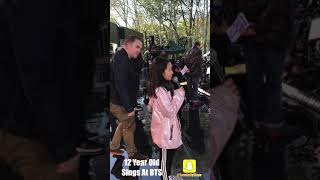 BTS - 12 Year Old Sings At BTS Concert