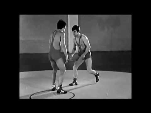 Koshi Guruma - Head & Arm Throw (Vintage Russian Wrestling Training Video) Judo, Grappling, BJJ