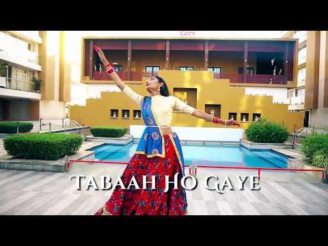 Tabaah Ho Gaye | Kalank | Dhruva Shishangiya | Kathak Fusion | Madhuri Dixit |