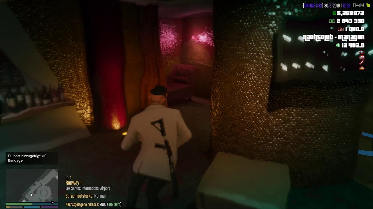 FiveM (ESX) esx_nightclub ESX Job