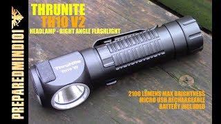 Thrunite TH10 V2 Headl Right Angle EDC Light Preparedmind101
