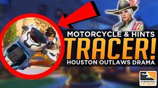 Overwatch: Tracer Gets a Motorcycle! - Houston Outlaws DRAMA!