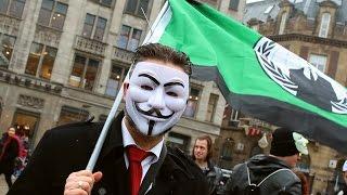 Anonymous: Million Mask March 2015, Amsterdam 1080p (Original Impressional Video)