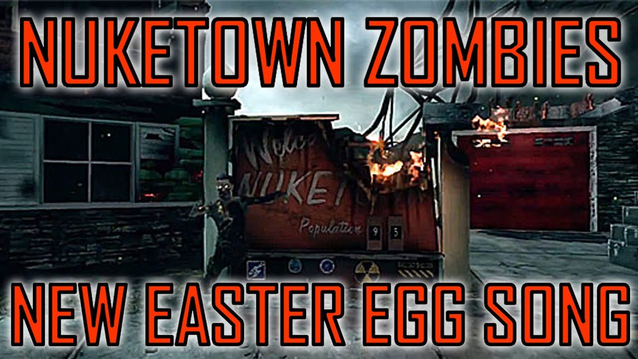 Black Ops 2 | New Nuketown Zombies Easter Egg - YouTube