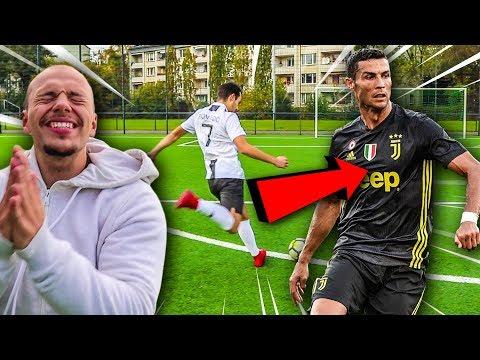 AUSBILDUNG ZU CRISTIANO RONALDO + FUßBALL CHALLENGE