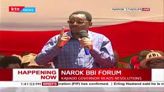 quotUwizi sasa imezidiquot Senator Orengo pushes for action against corrupt leaders    NAROK BBI FORUM