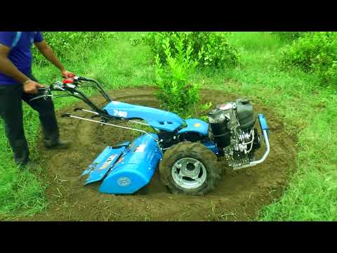 BCS Power Tiller Best Solution for Orchards & Basic Field Preparation