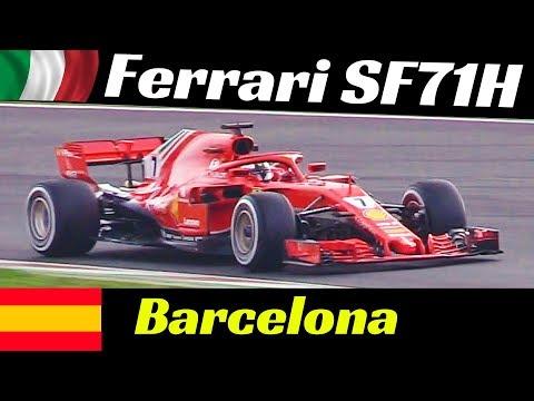 Ferrari SF71H Formula One [F1] - 2018 Official Pre-Season Tests - Montmelò (Barcellona) Highlights