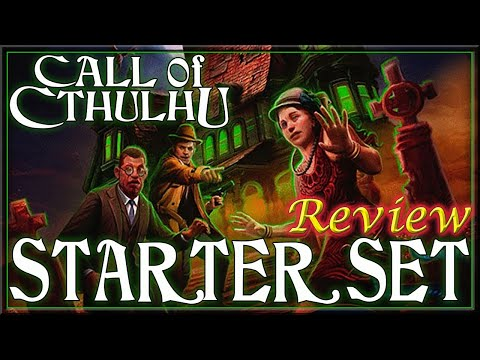 Call Of Cthulhu Starter Set - RPG Review