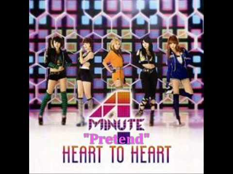 [MP3 DOWNLOAD] 4Minute- 모르는 척 (Pretend) w/ Romanized & English Lyrics