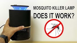 Mosquito killer lamp Review | You NEED it for Summer