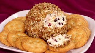Cranberry Cheese Ball Recipe - Amy Lynn's Kitchen