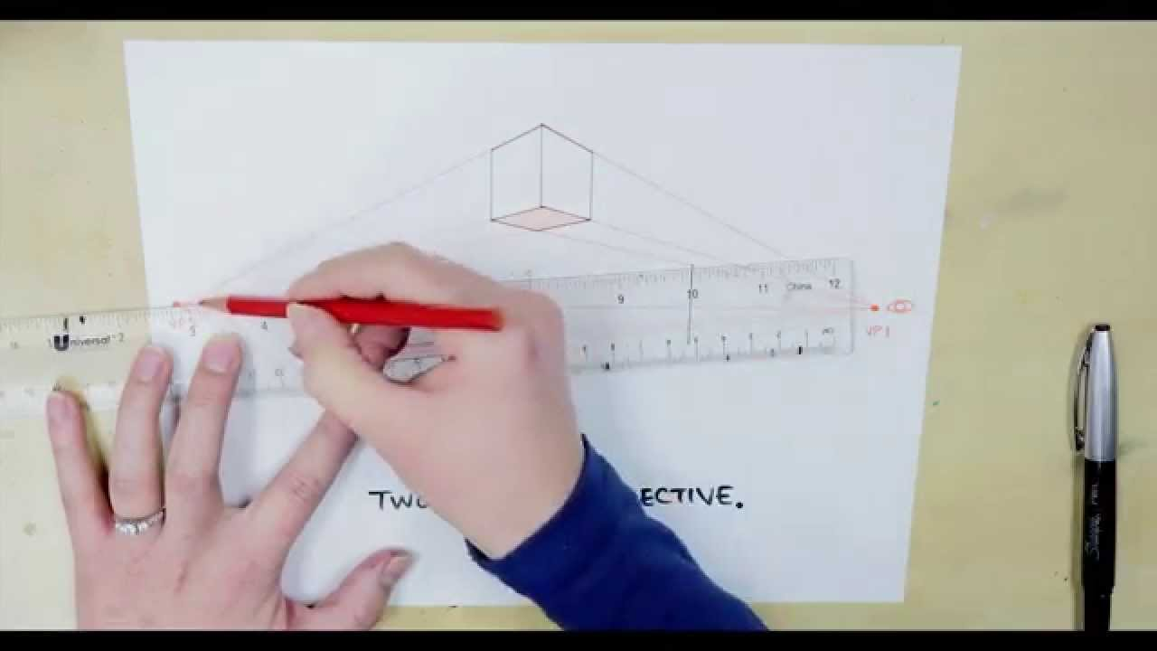 Drawing Things in 2 Point Perspective: Quick Art Tutorial for Beginners