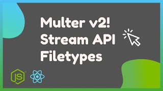 How to send a File from React to NodeJS with Multer 2.0 (Express)