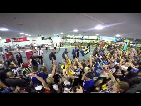 NRL North Qld Cowboys Grand Final Homecoming 2015