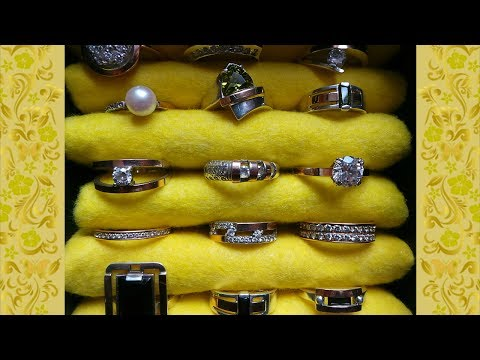 HOW TO MAKE ORGANIZER BOX FOR RINGS / CRAFTS IDEAS