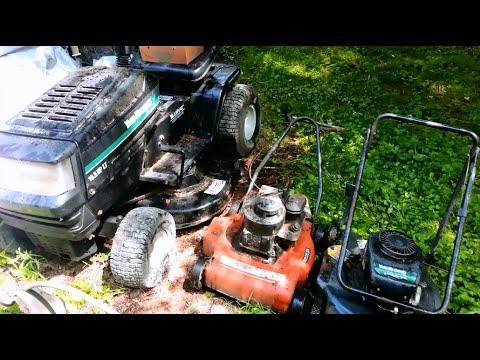 Free Lawnmowers & Mtd Riding Mower Craigslist Score! - YT