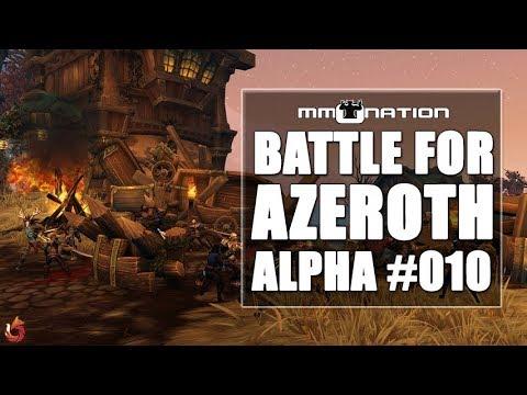 SCHLACHT um FALKENFORST - WoW Battle for Azeroth Alpha Let's Play #010 [Deutsch]