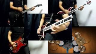 X JAPAN - 紅(Kurenai)を弾いてみた - Guitar/Bass cover 【~完コピに向かって~】