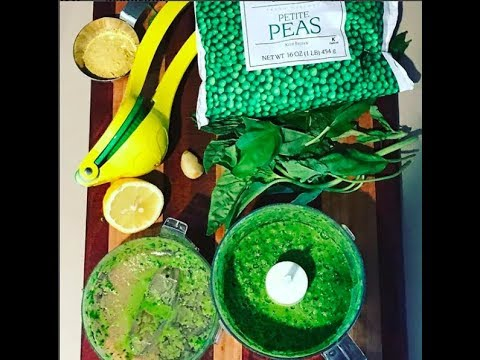 1-minute Easy PEASY Pesto