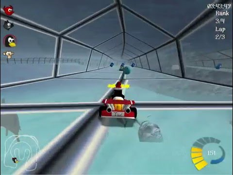 Super Tux Kart - Subsea Track