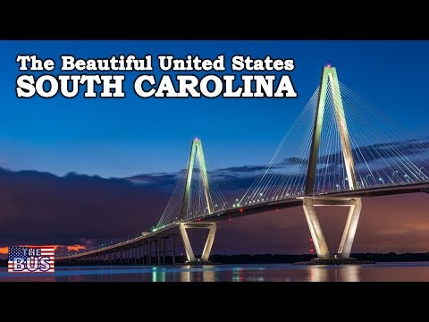 USA South Carolina State Symbols/Beautiful Places/Song SOUTH CAROLINA ON MY MIND w/lyrics
