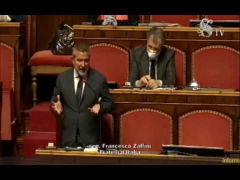FdI Parlamento - intervento del Sen. Zaffini  sulle iniziative per fronteggiare l'emergenza COVID-19