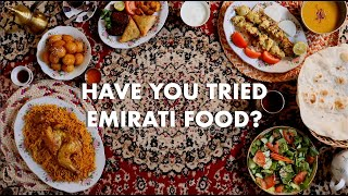 Have you tried Emirati Food ?